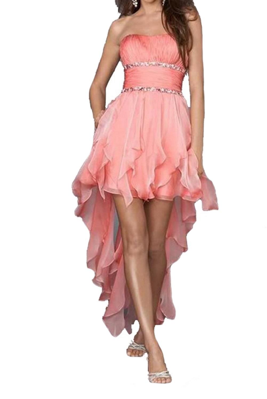 traje de ceremonia mujer gasa dama vestido largo elegante | eBay