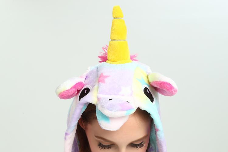 materiale pigiama animale intero kigurumi  costume carnevale Halloween cosplay