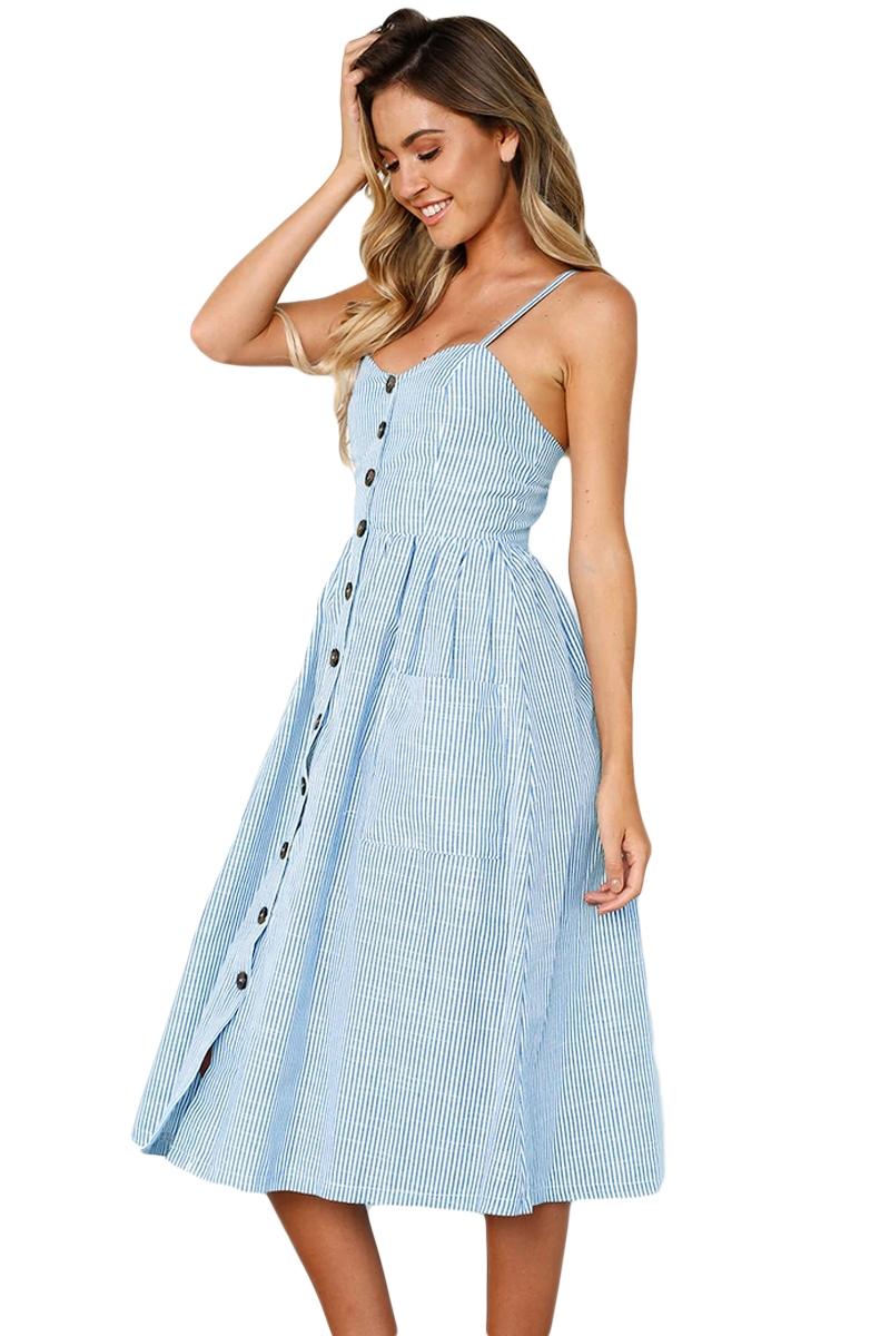 elegante-abito-cerimonia-da-donna-vestito-estivo-casual-vintage-a-righe-party