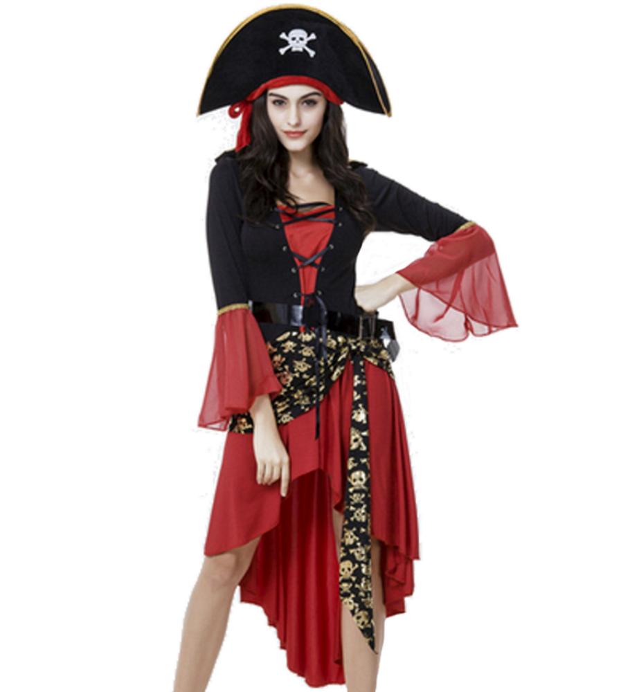 Costume-carnevale-donna-travestimento-da-pirata-con-capello-e-cintura-vestito-co