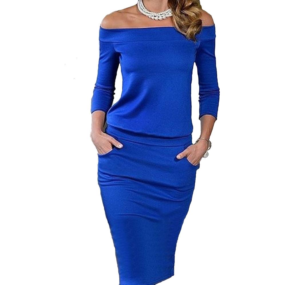 mini-abito-cerimonia-da-donna-vestito-elegante-tubino-scollo-barchetta miniatura 5