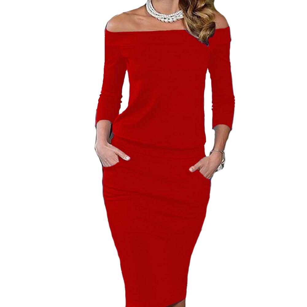 mini abito cerimonia da donna vestito elegante tubino scollo ... 3eb69d87237