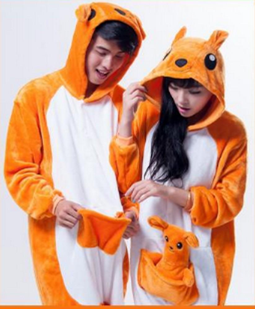 pigiama-kigurumi-animali-intero-tuta-costume-carnevale-Halloween-festa-cosplay miniatura 20