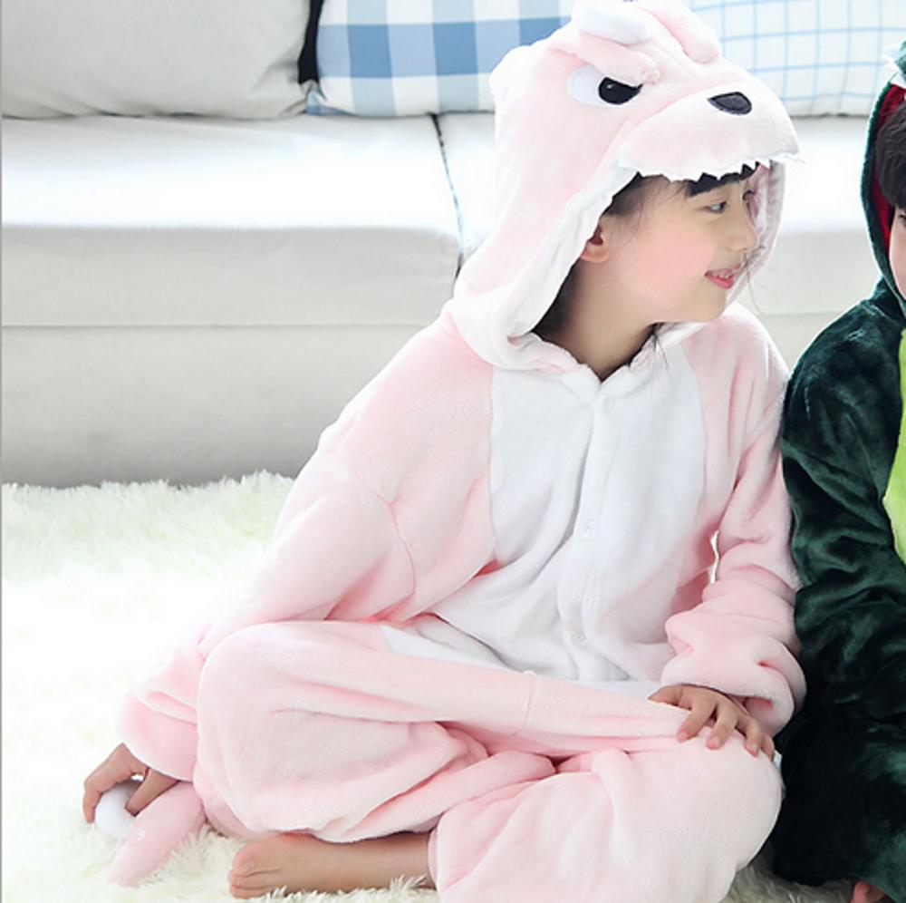 Emmarcon-pigiama-intero-animale-kigurumi-da-bambini-stella-arcobaleno-chiusura-i miniatura 16