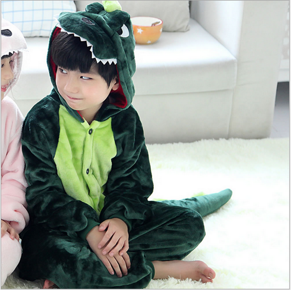 Emmarcon-pigiama-intero-animale-kigurumi-da-bambini-stella-arcobaleno-chiusura-i miniatura 19
