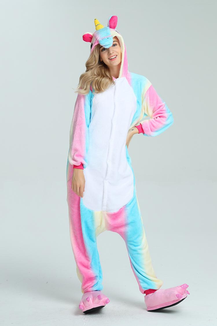pigiama-kigurumi-animali-intero-tuta-costume-carnevale-Halloween-festa-cosplay miniatura 16