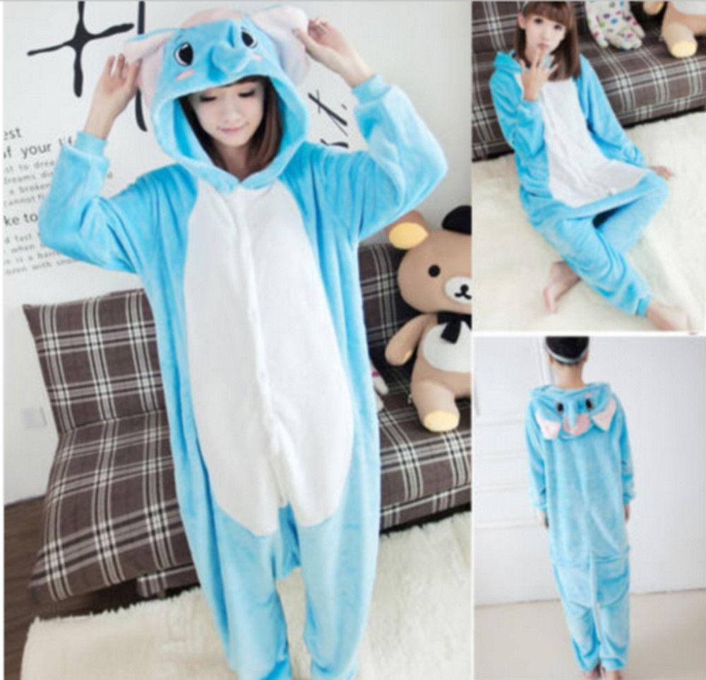 pigiama-kigurumi-animali-intero-tuta-costume-carnevale-Halloween-festa-cosplay miniatura 34