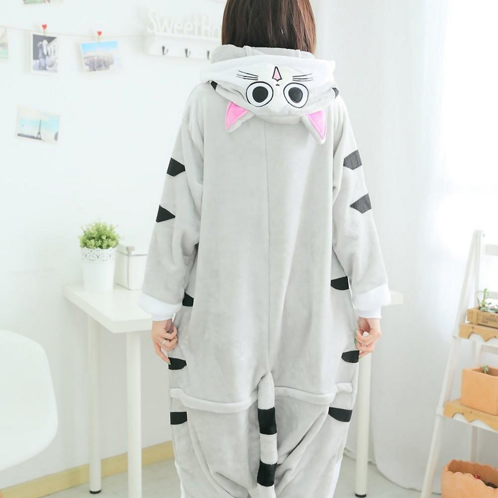 pigiama-kigurumi-animali-intero-tuta-costume-carnevale-Halloween-festa-cosplay miniatura 38