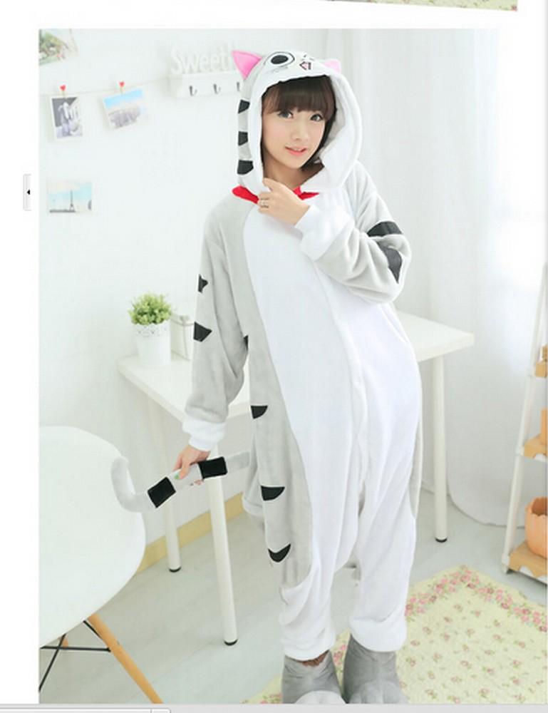 pigiama-kigurumi-animali-intero-tuta-costume-carnevale-Halloween-festa-cosplay miniatura 37
