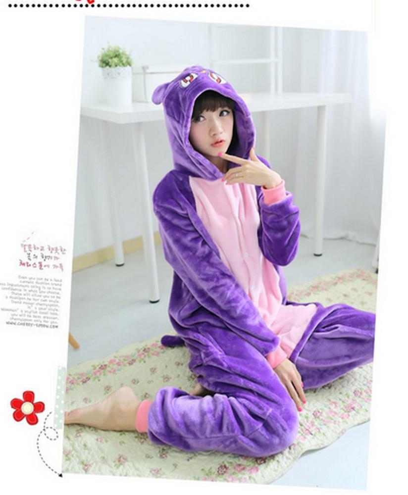 pigiama-kigurumi-animali-intero-tuta-costume-carnevale-Halloween-festa-cosplay miniatura 42
