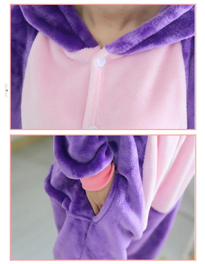pigiama-kigurumi-animali-intero-tuta-costume-carnevale-Halloween-festa-cosplay miniatura 45