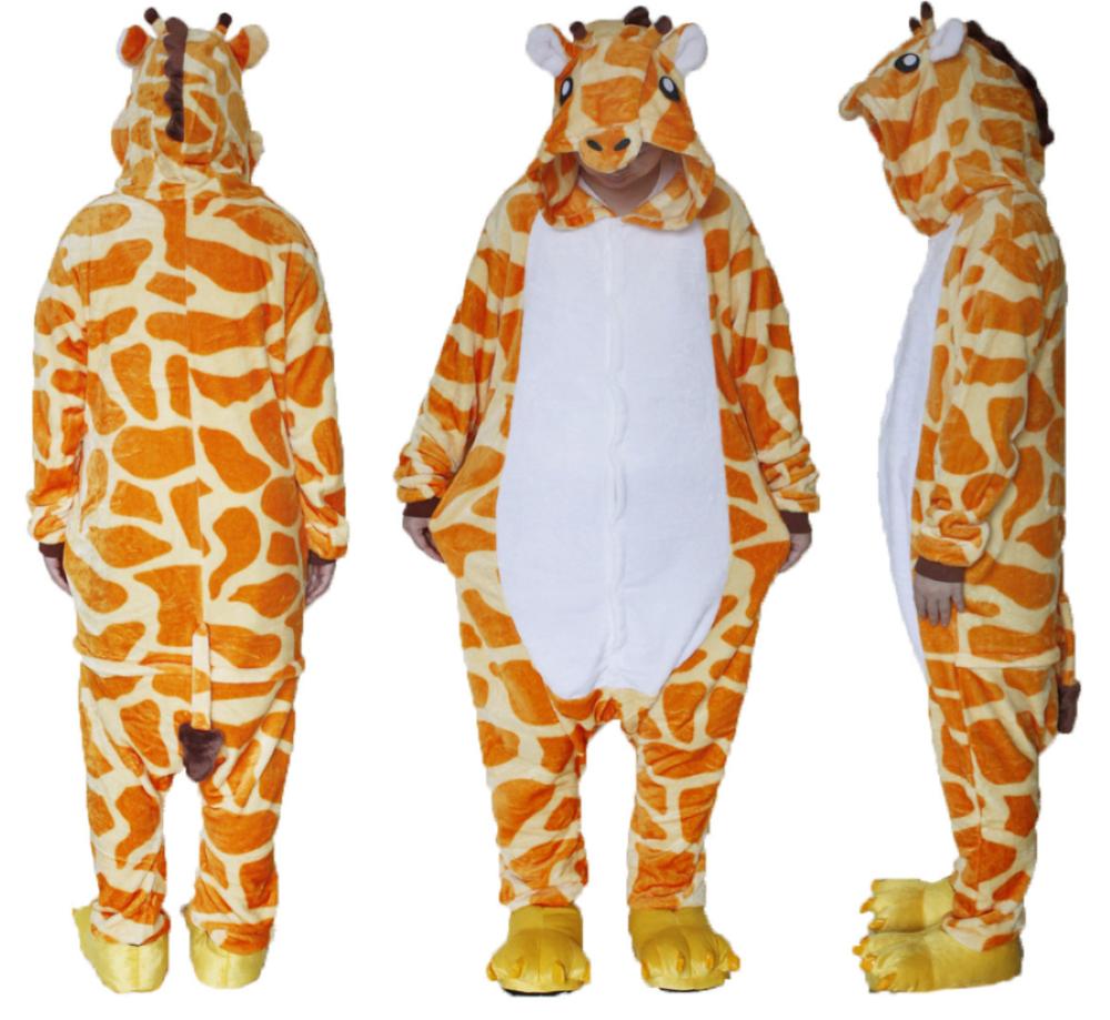 pigiama-kigurumi-animali-intero-tuta-costume-carnevale-Halloween-festa-cosplay miniatura 50