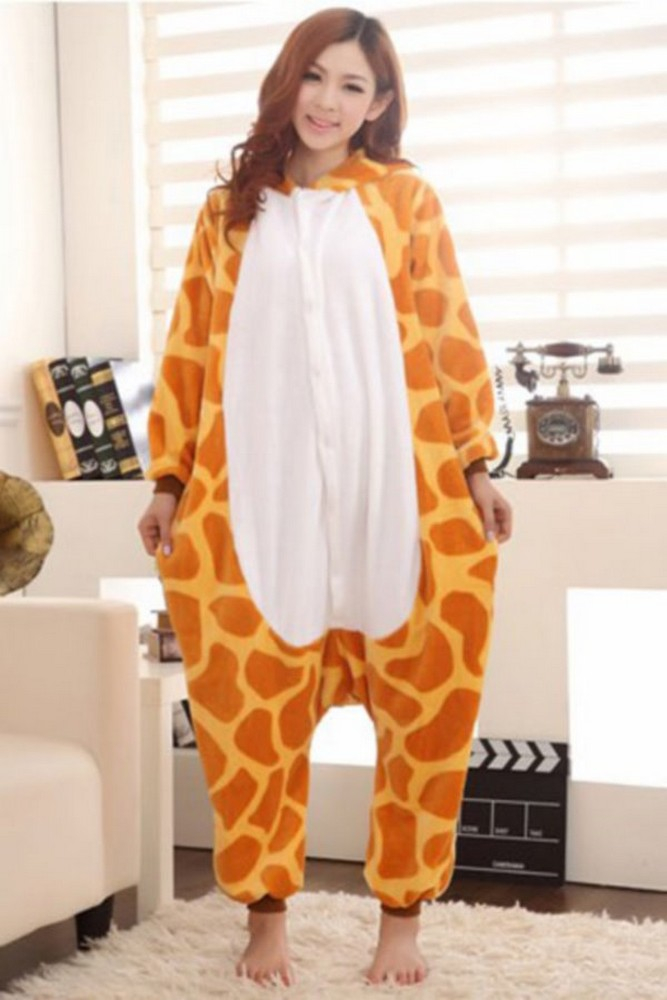pigiama-kigurumi-animali-intero-tuta-costume-carnevale-Halloween-festa-cosplay miniatura 52