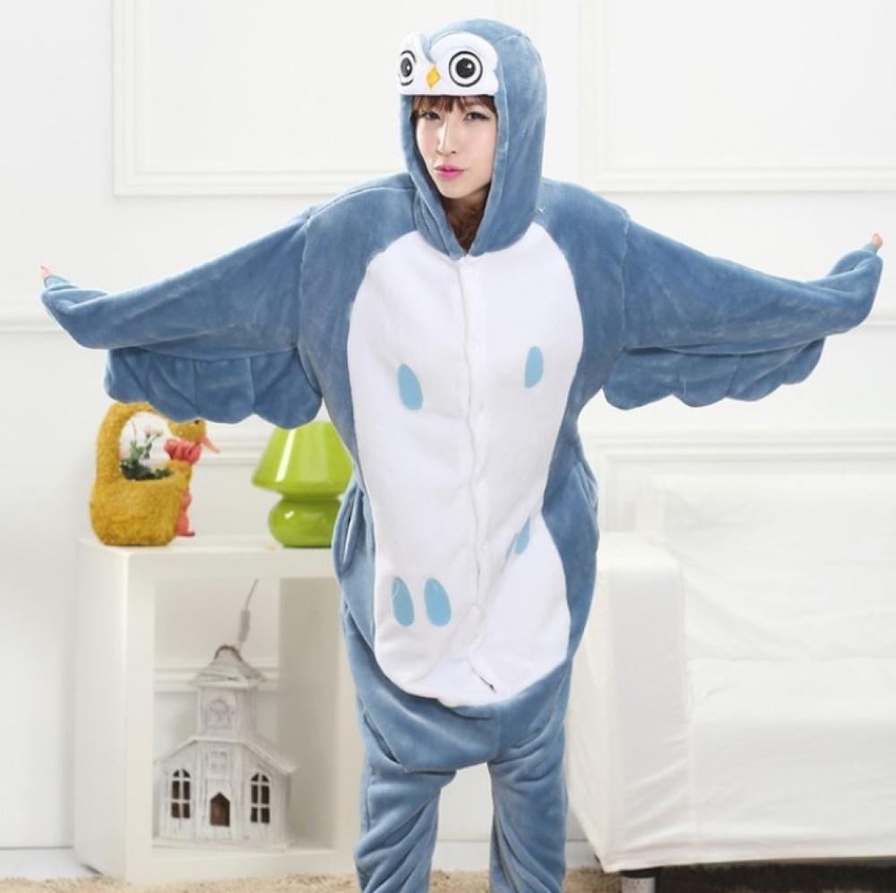 pigiama-kigurumi-animali-intero-tuta-costume-carnevale-Halloween-festa-cosplay miniatura 57