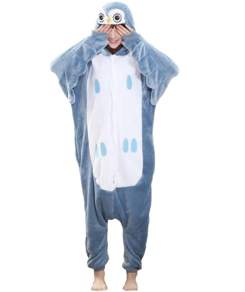 pigiama-kigurumi-animali-intero-tuta-costume-carnevale-Halloween-festa-cosplay miniatura 55
