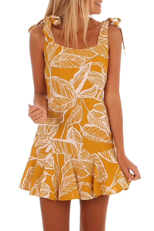 a9ca58e1803b abito vestito estivo corto da donna stampa floreale schiena scoperta ...
