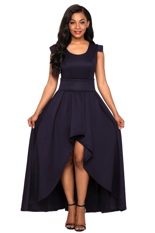 2e4e61536bf6 Abito vestito lungo cerimonia da donna damigella ideale per festa ...