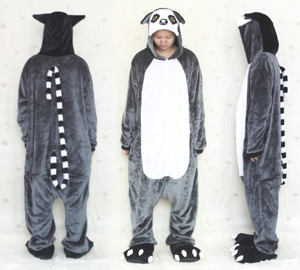 pigiama-kigurumi-animali-intero-tuta-costume-carnevale-Halloween-festa-cosplay miniatura 63
