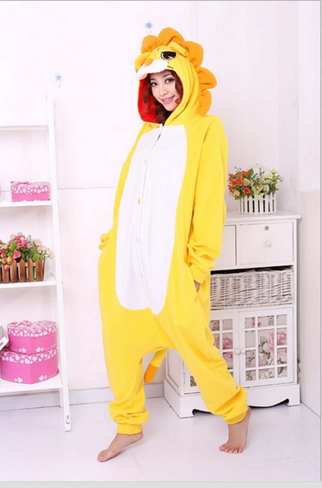pigiama-kigurumi-animali-intero-tuta-costume-carnevale-Halloween-festa-cosplay miniatura 66