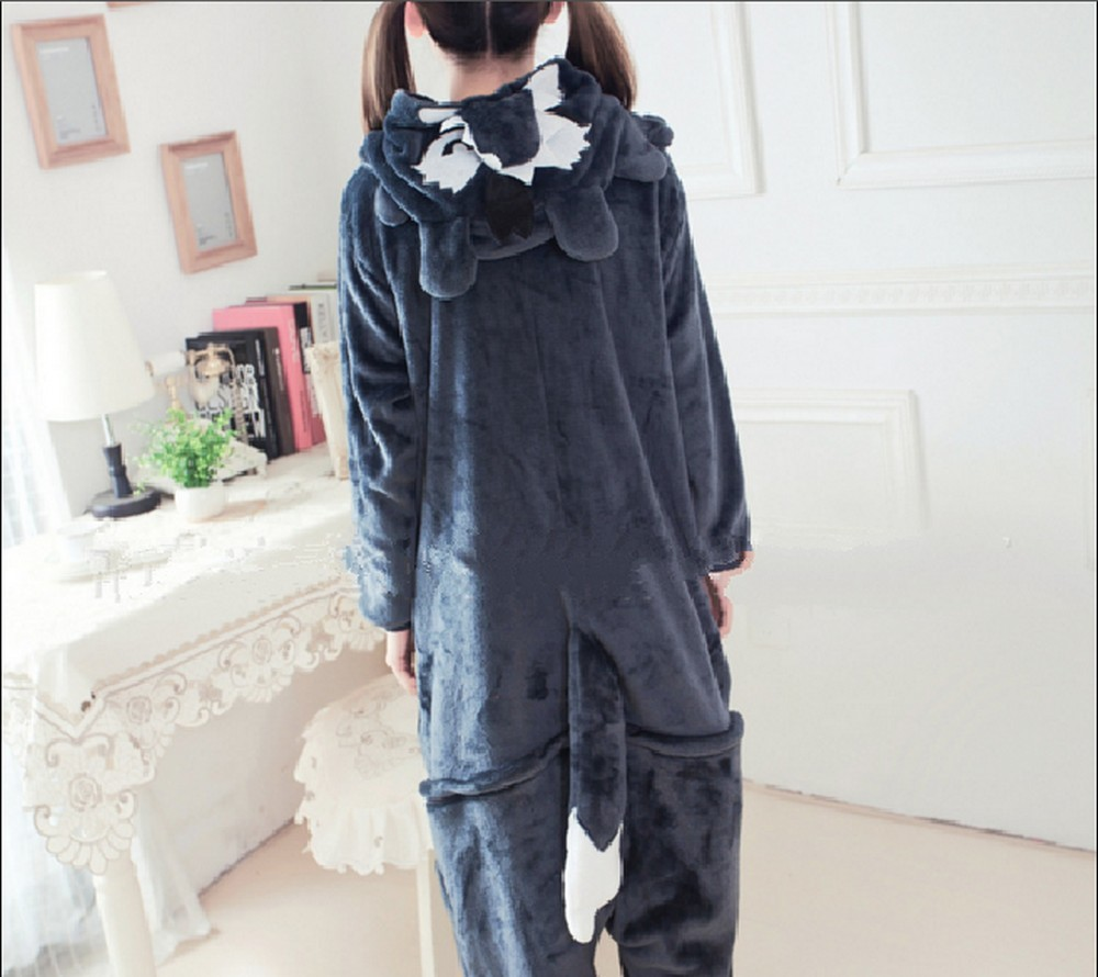 pigiama-kigurumi-animali-intero-tuta-costume-carnevale-Halloween-festa-cosplay miniatura 74