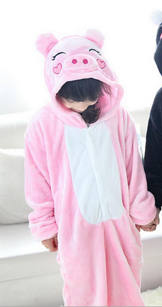 Emmarcon-pigiama-intero-animale-kigurumi-da-bambini-stella-arcobaleno-chiusura-i miniatura 24