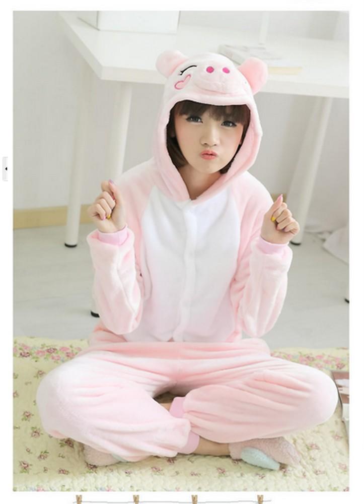 pigiama-kigurumi-animali-intero-tuta-costume-carnevale-Halloween-festa-cosplay miniatura 87