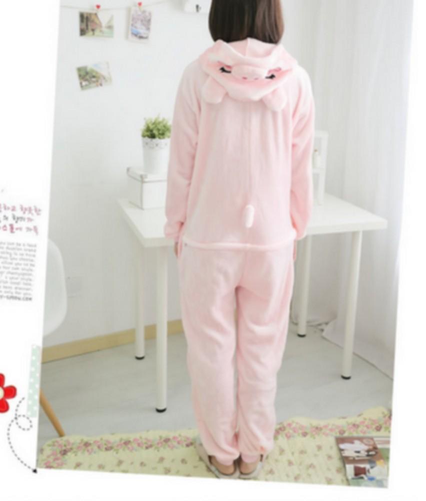 pigiama-kigurumi-animali-intero-tuta-costume-carnevale-Halloween-festa-cosplay miniatura 86