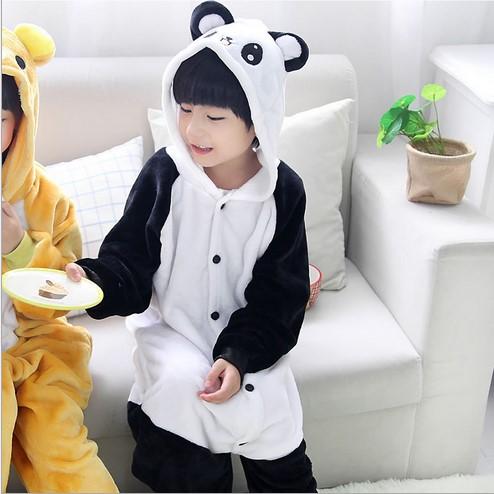 Emmarcon-pigiama-intero-animale-kigurumi-da-bambini-stella-arcobaleno-chiusura-i miniatura 28