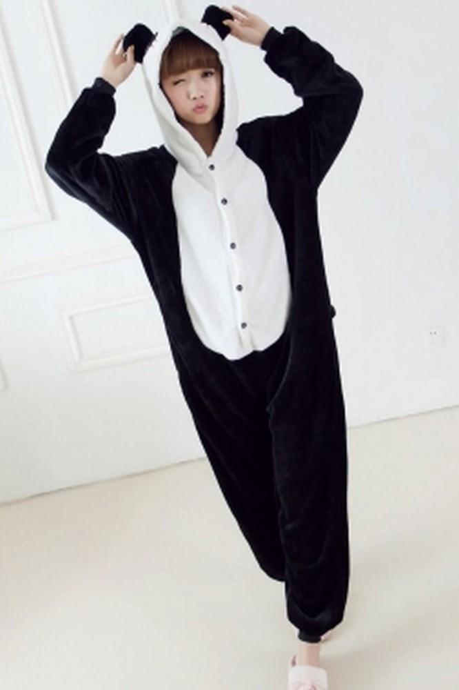 pigiama-kigurumi-animali-intero-tuta-costume-carnevale-Halloween-festa-cosplay miniatura 105