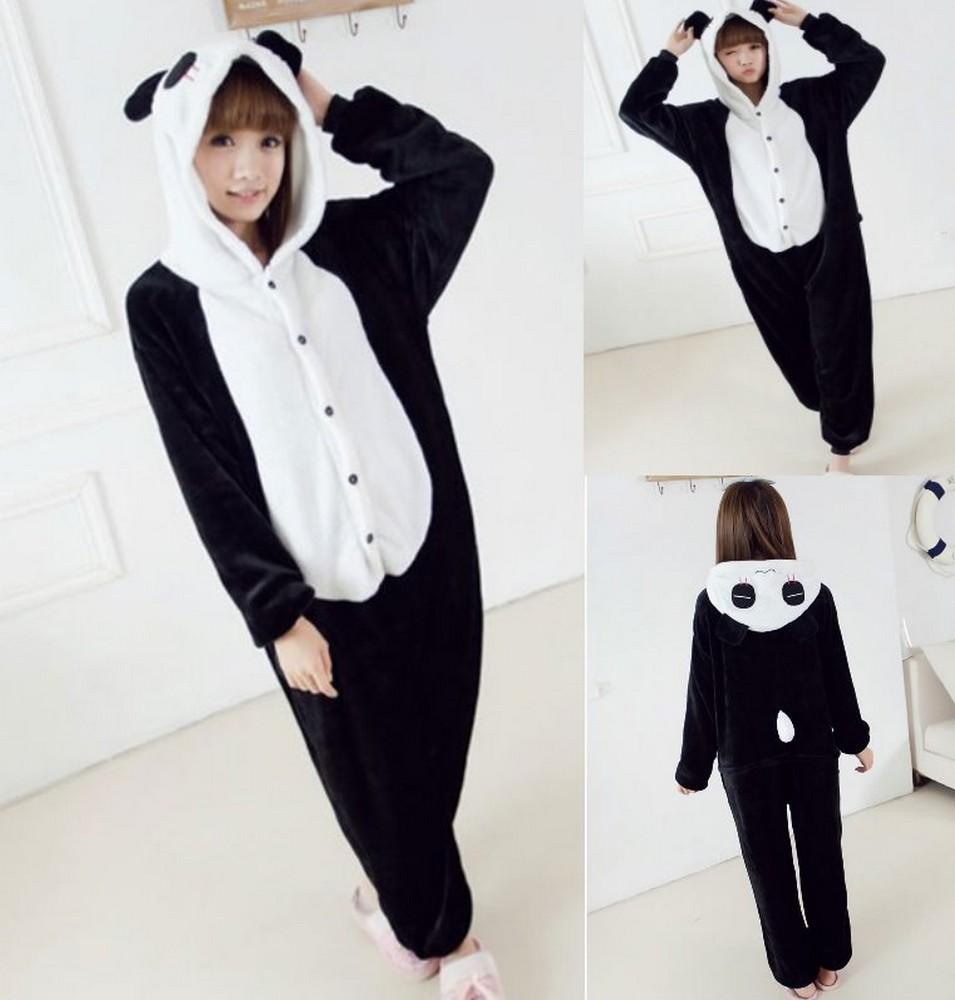 pigiama-kigurumi-animali-intero-tuta-costume-carnevale-Halloween-festa-cosplay miniatura 102