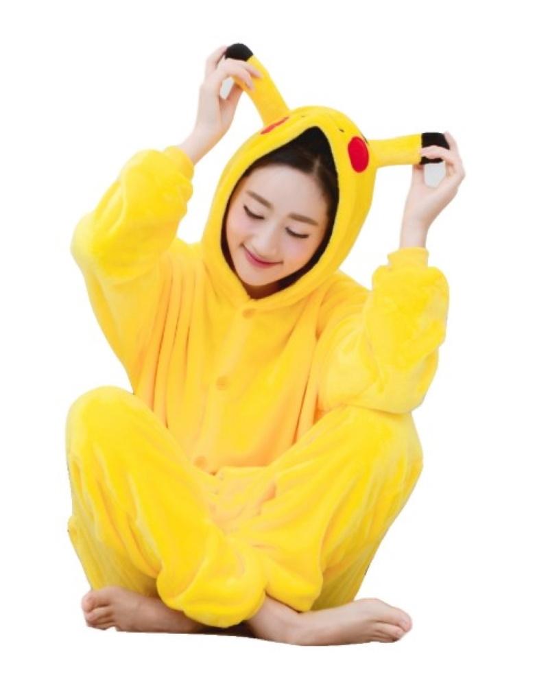 pigiama-kigurumi-animali-intero-tuta-costume-carnevale-Halloween-festa-cosplay miniatura 123