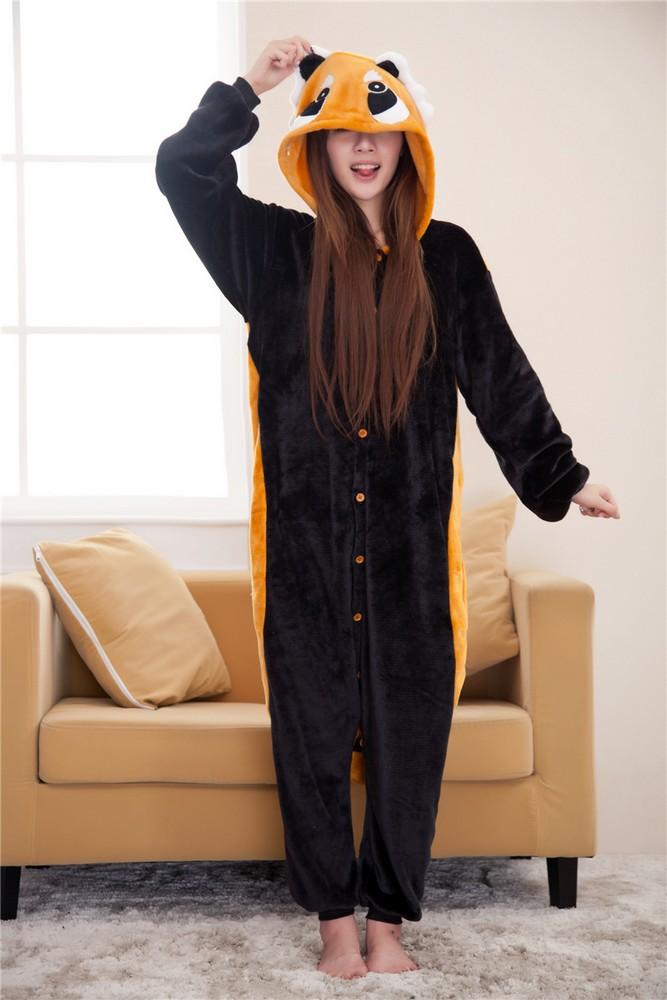 pigiama-kigurumi-animali-intero-tuta-costume-carnevale-Halloween-festa-cosplay miniatura 137