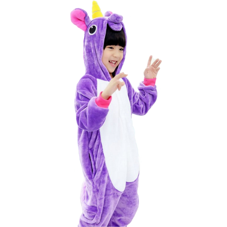 Emmarcon-pigiama-intero-animale-kigurumi-da-bambini-stella-arcobaleno-chiusura-i miniatura 62