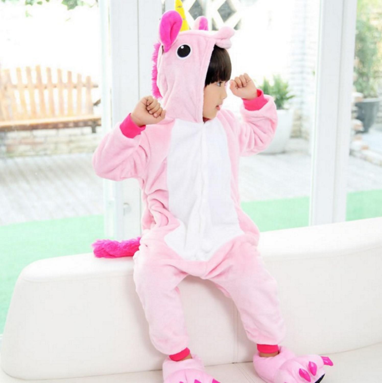 Emmarcon-pigiama-intero-animale-kigurumi-da-bambini-stella-arcobaleno-chiusura-i miniatura 67