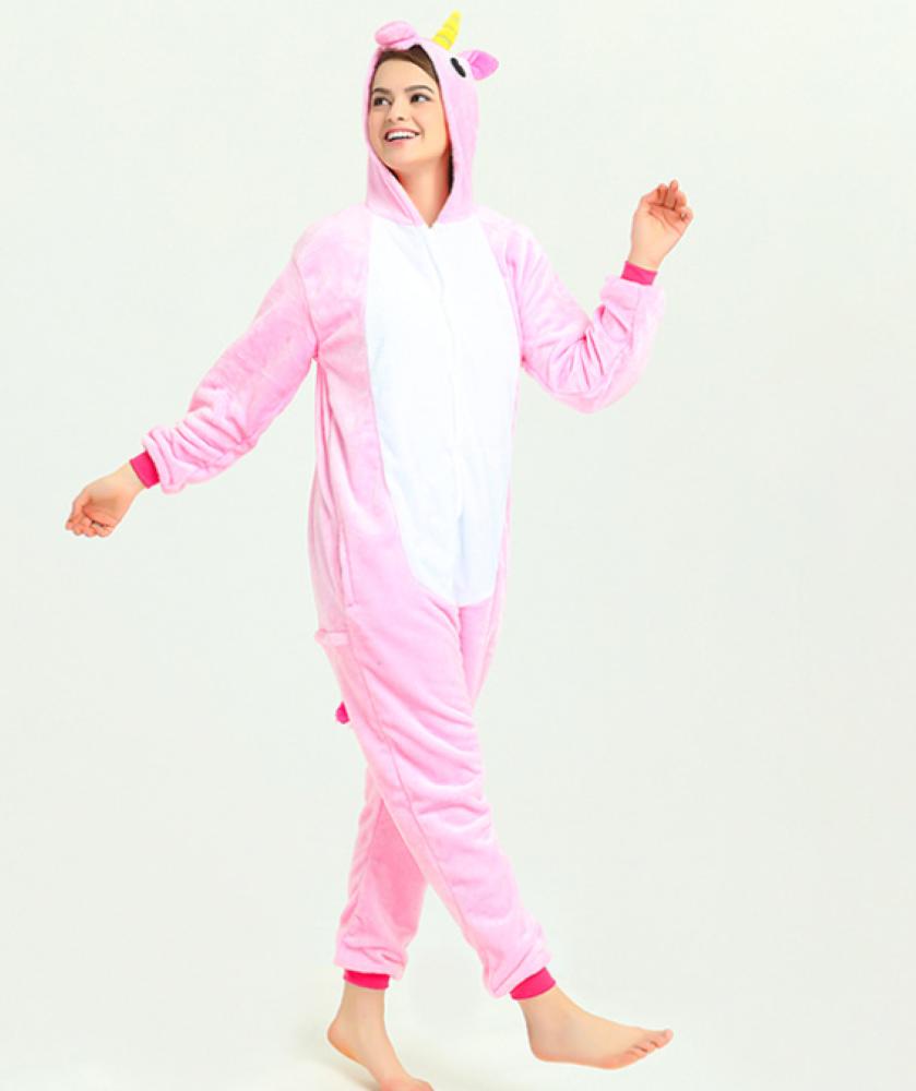 pigiama-kigurumi-animali-intero-tuta-costume-carnevale-Halloween-festa-cosplay miniatura 199