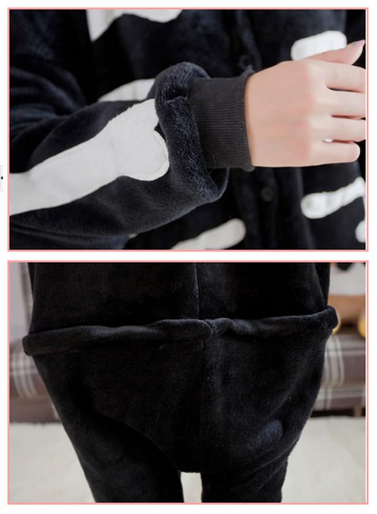 pigiama-kigurumi-animali-intero-tuta-costume-carnevale-Halloween-festa-cosplay miniatura 147