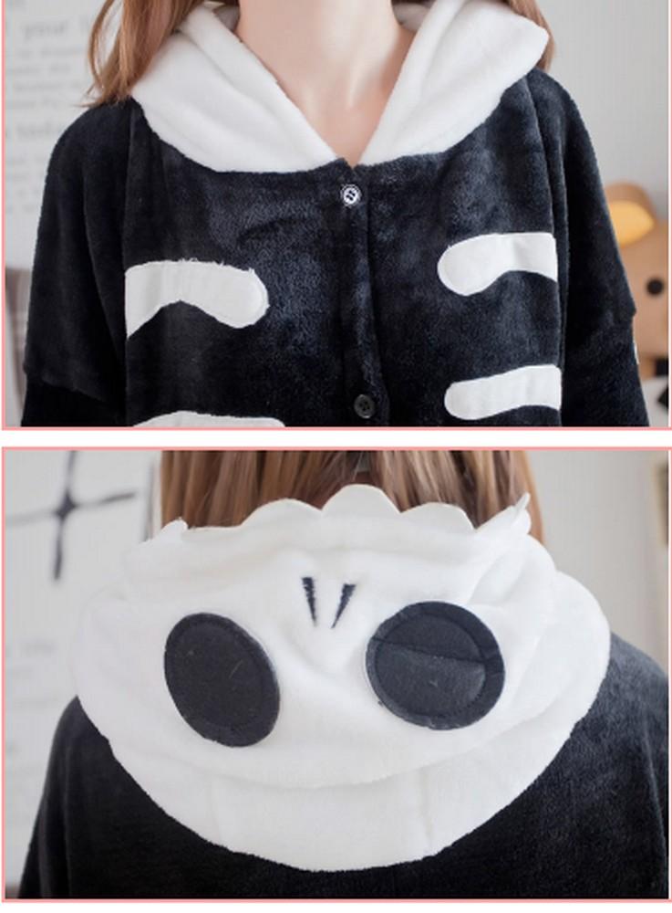 pigiama-kigurumi-animali-intero-tuta-costume-carnevale-Halloween-festa-cosplay miniatura 144
