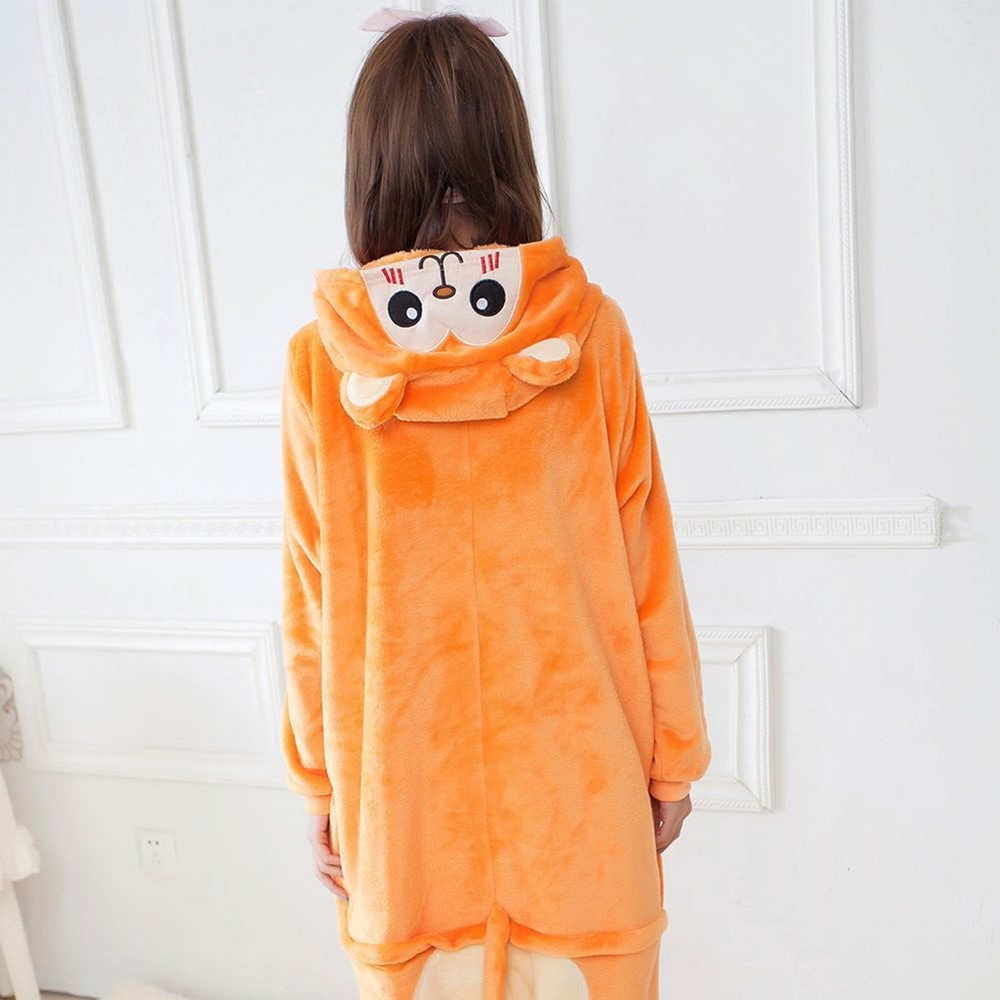 pigiama-kigurumi-animali-intero-tuta-costume-carnevale-Halloween-festa-cosplay miniatura 149