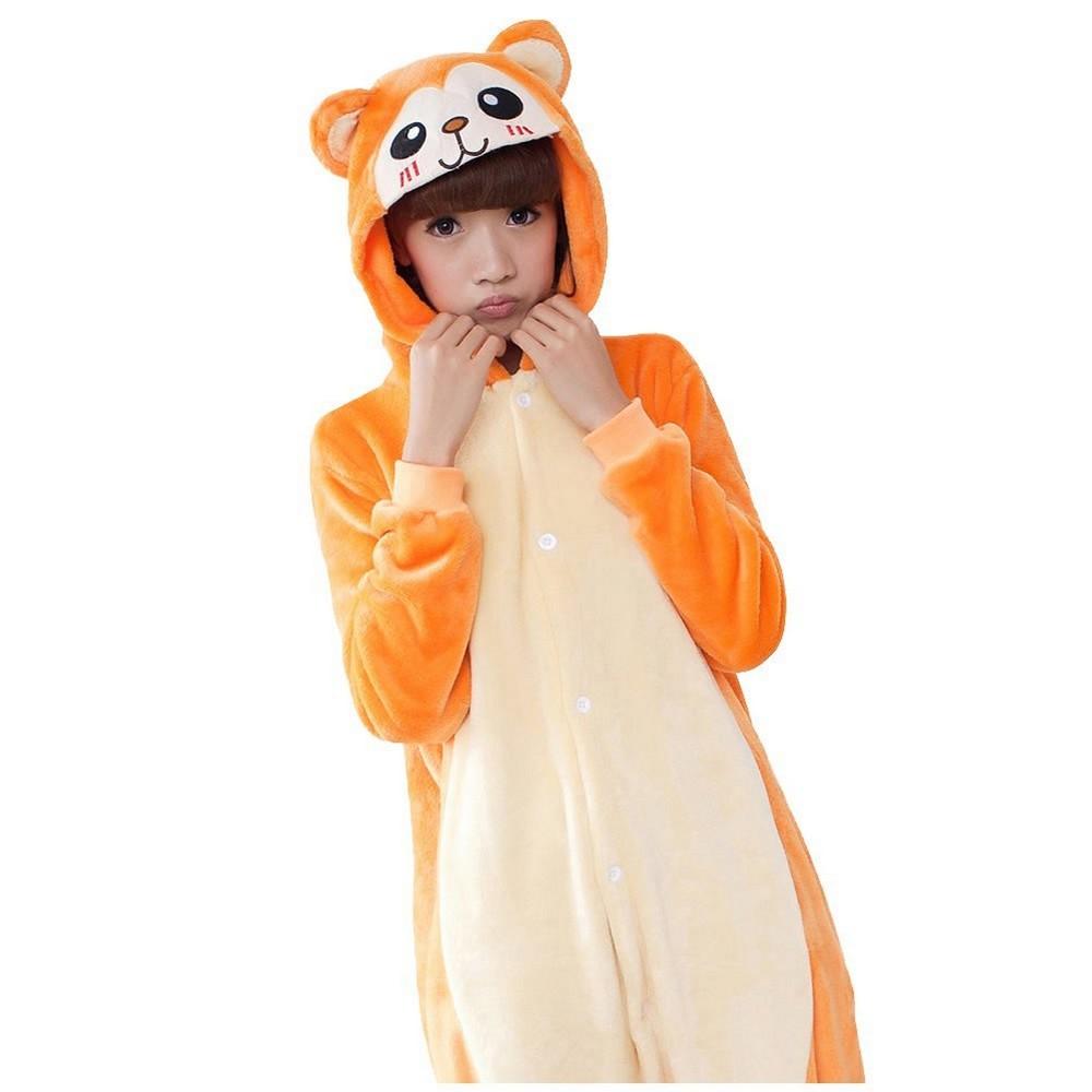 pigiama-kigurumi-animali-intero-tuta-costume-carnevale-Halloween-festa-cosplay miniatura 154
