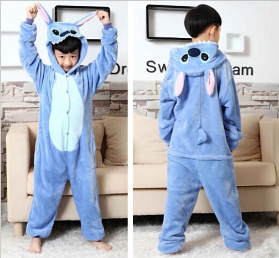 Emmarcon-pigiama-intero-animale-kigurumi-da-bambini-stella-arcobaleno-chiusura-i miniatura 40