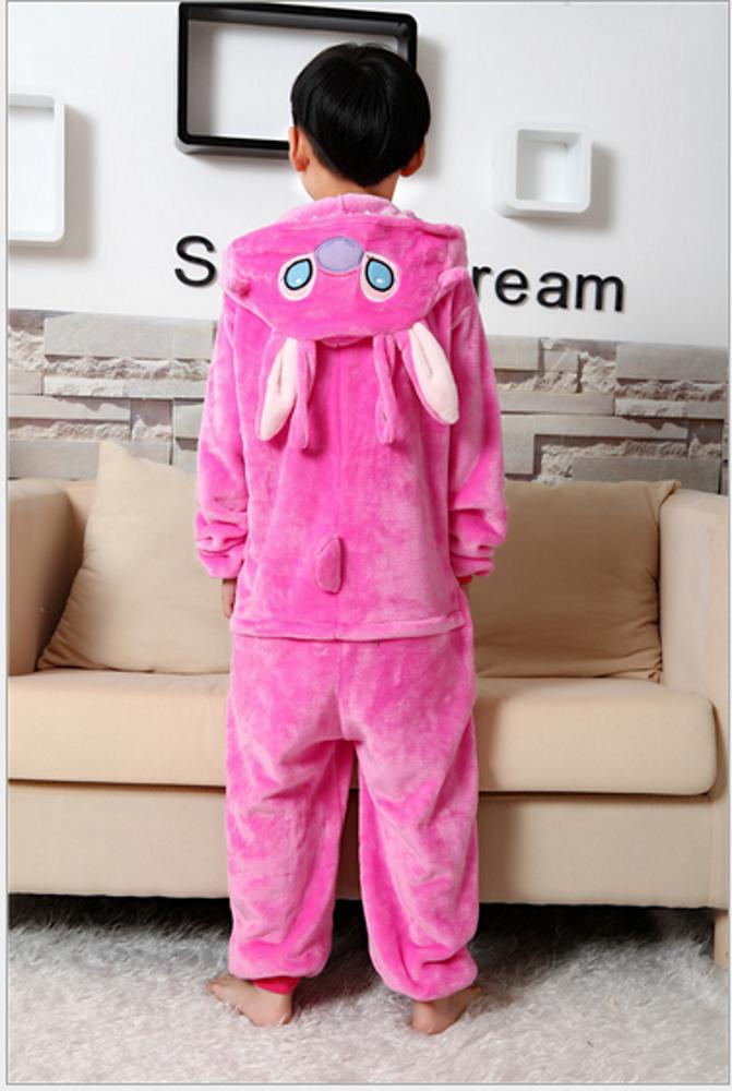 Emmarcon-pigiama-intero-animale-kigurumi-da-bambini-stella-arcobaleno-chiusura-i miniatura 43