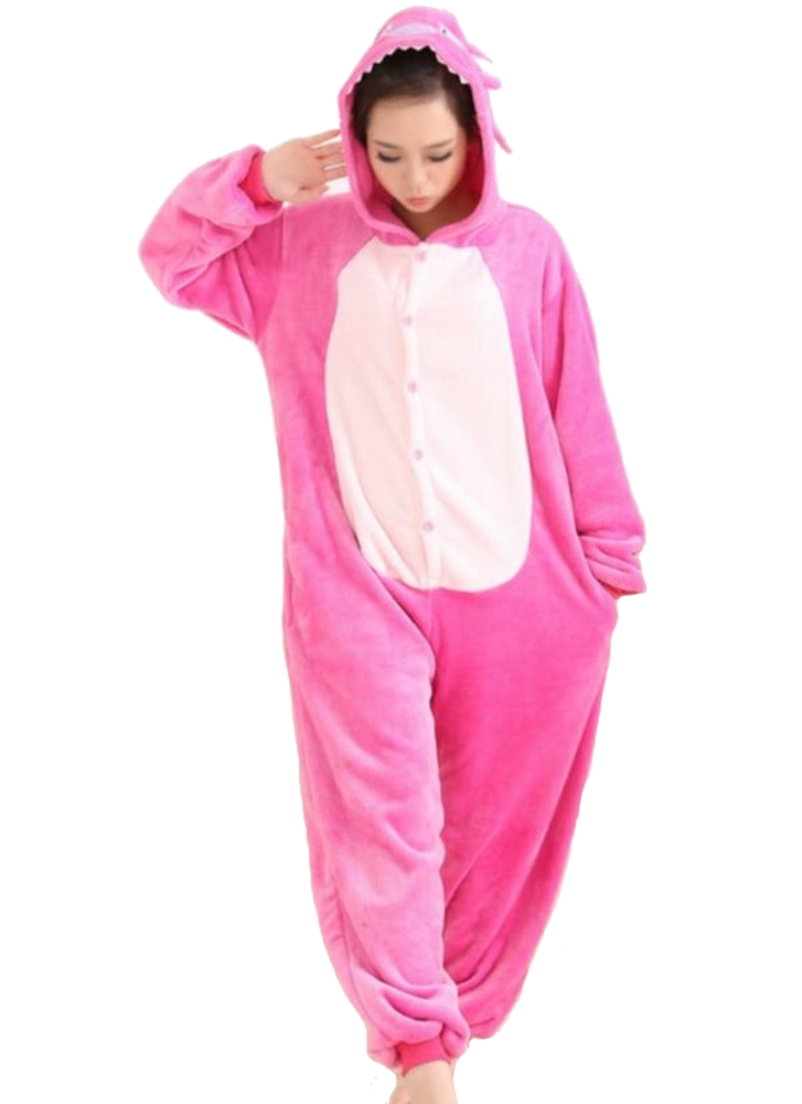 pigiama-kigurumi-animali-intero-tuta-costume-carnevale-Halloween-festa-cosplay miniatura 157