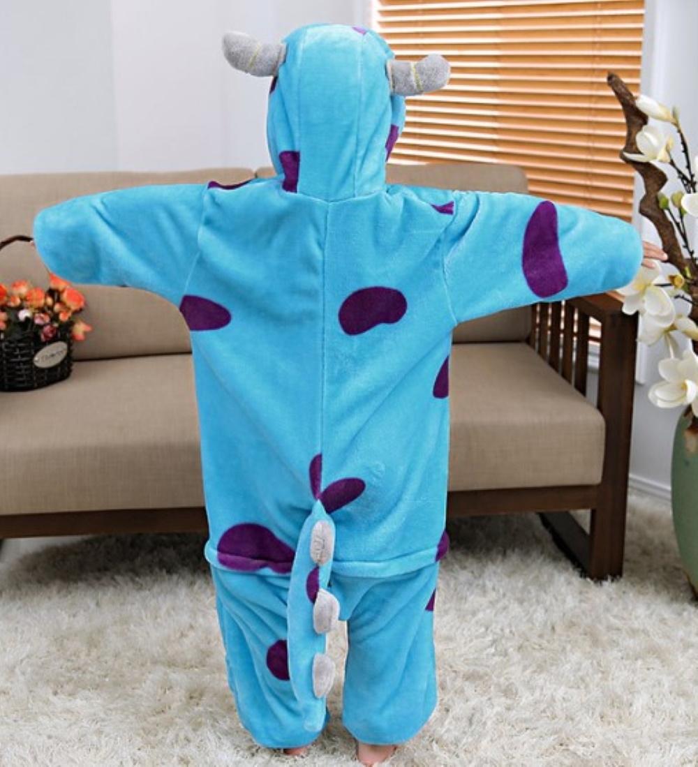 Emmarcon-pigiama-intero-animale-kigurumi-da-bambini-stella-arcobaleno-chiusura-i miniatura 46