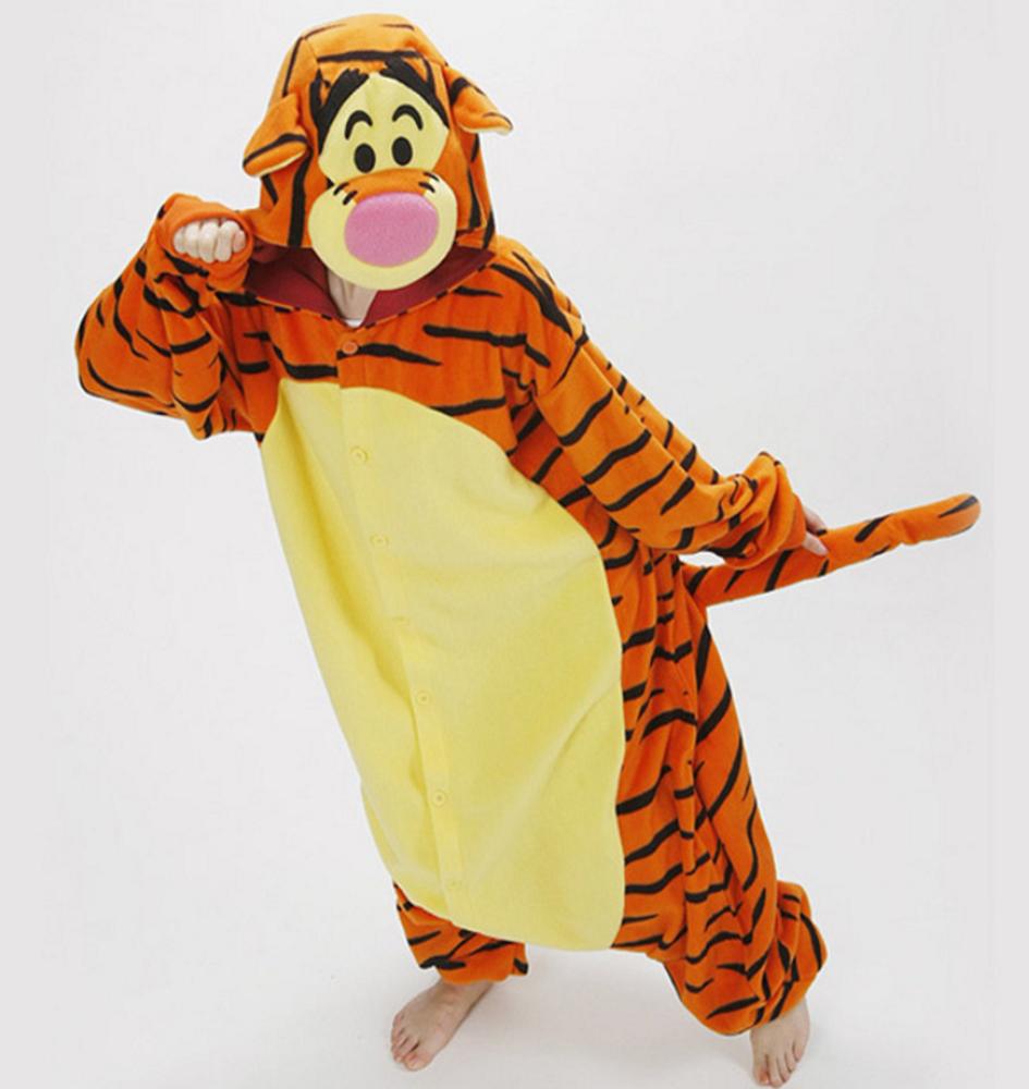 pigiama-kigurumi-animali-intero-tuta-costume-carnevale-Halloween-festa-cosplay miniatura 163