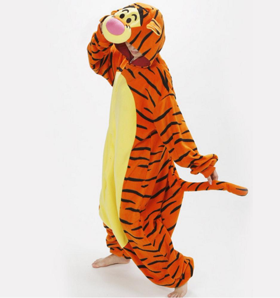 pigiama-kigurumi-animali-intero-tuta-costume-carnevale-Halloween-festa-cosplay miniatura 162