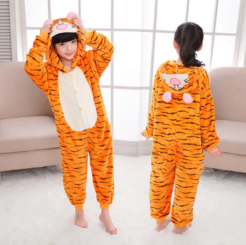 Emmarcon-pigiama-intero-animale-kigurumi-da-bambini-stella-arcobaleno-chiusura-i miniatura 50
