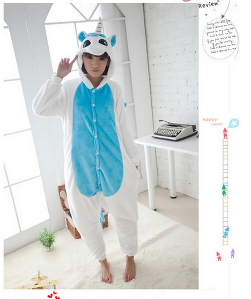pigiama-kigurumi-animali-intero-tuta-costume-carnevale-Halloween-festa-cosplay miniatura 178