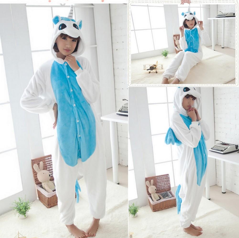 pigiama-kigurumi-animali-intero-tuta-costume-carnevale-Halloween-festa-cosplay miniatura 177