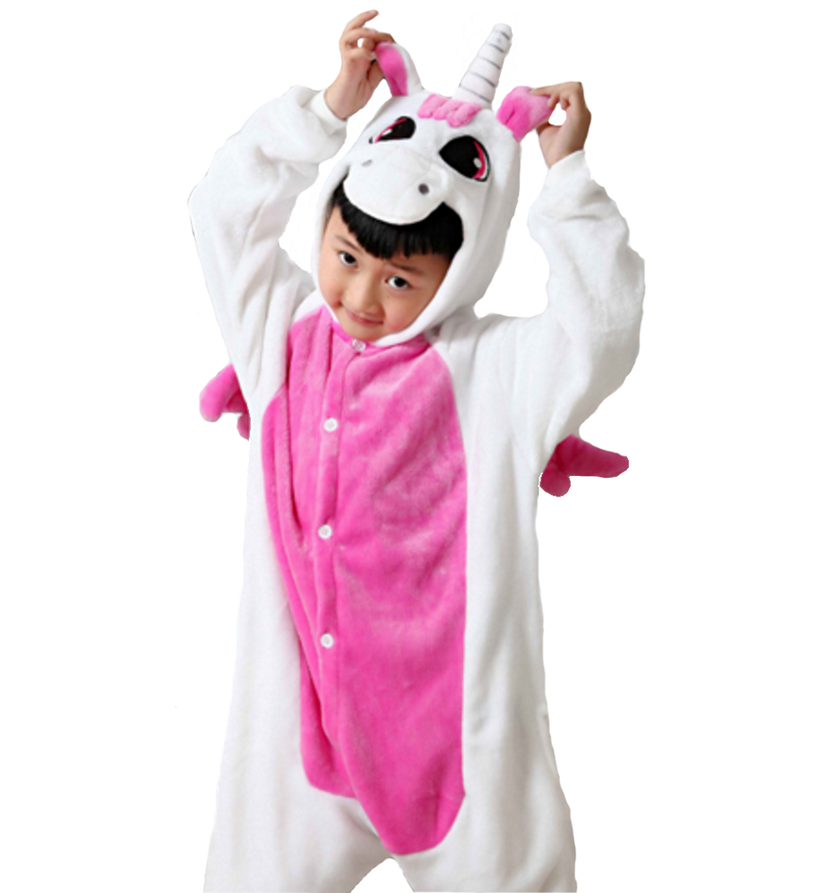 Emmarcon-pigiama-intero-animale-kigurumi-da-bambini-stella-arcobaleno-chiusura-i miniatura 59