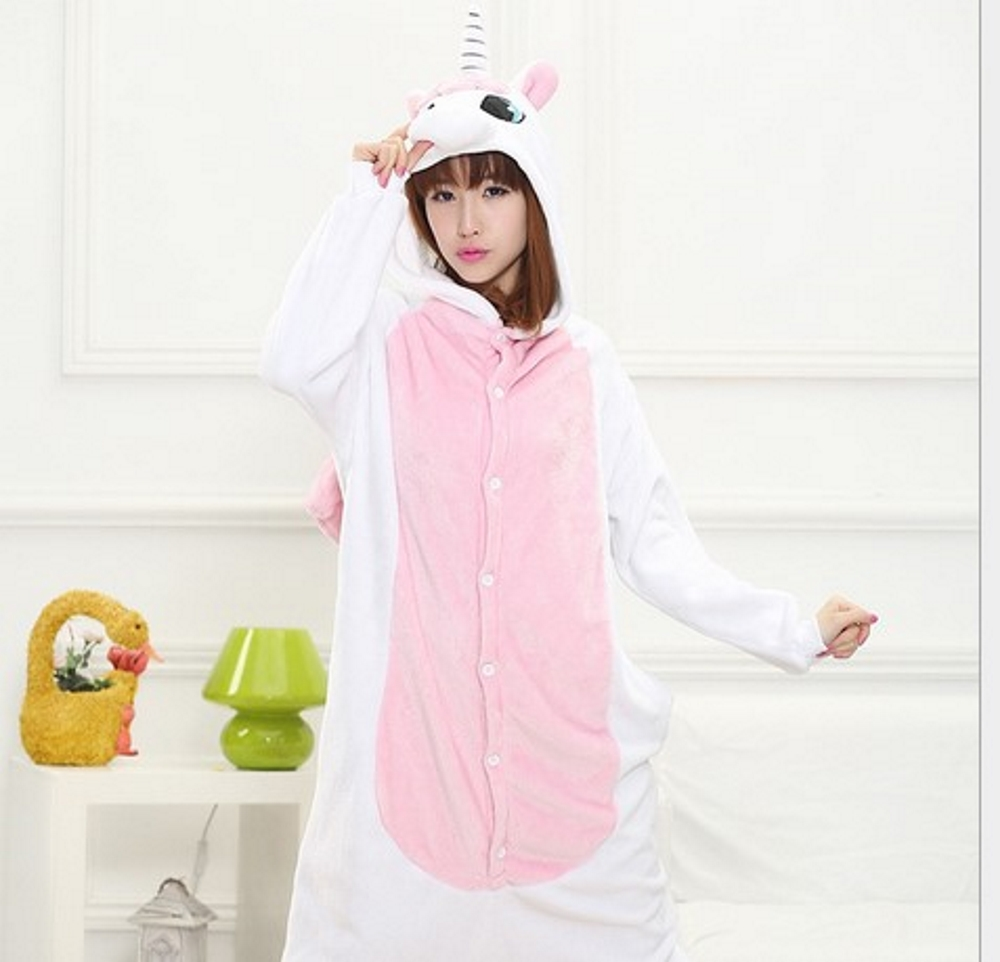 pigiama-kigurumi-animali-intero-tuta-costume-carnevale-Halloween-festa-cosplay miniatura 194